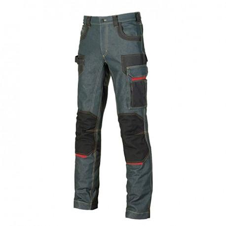 U-Power PLATINUM BUTTON Rust Jeans