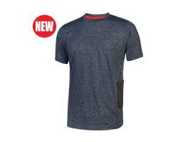 U-Power T-Shirt Road Grey Meteorite