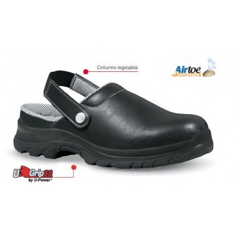 Scarpe Antifortunistiche U-Power Super Grip Bassa SB-E-A-FO